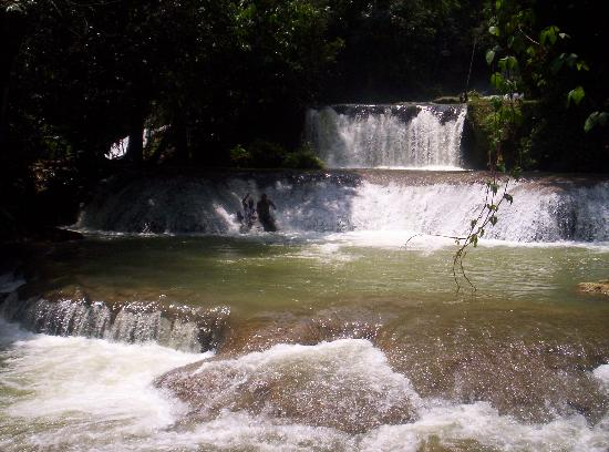 Negril, Jamaica: YS Falls tour - waterfall