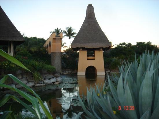 The Oberoi, Mauritius: Greeting area