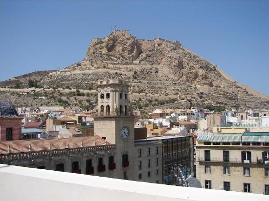 Eurostars Mediterranea Plaza Alicante: View from the terrace