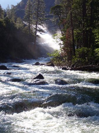 Hetch Hetchy Reservoir: rancheria falls