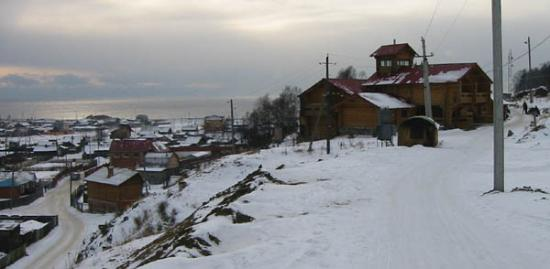 Baikalskye Terema: The hotel on top of the hill