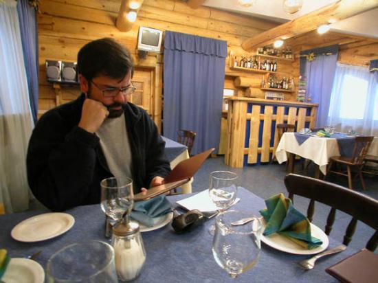 Baikalskye Terema: The restaurant