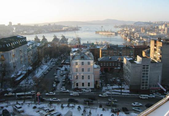 Lotte Hotel Vladivostok: View from our room