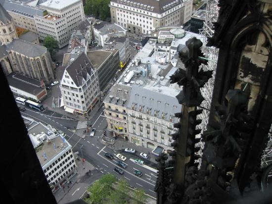Excelsior Hotel Ernst: View of hotel from the Dom tower