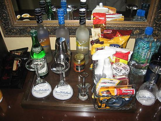 """Green Valley Ranch Resort and Spa: """"The mini bar was nice to look at"""""""