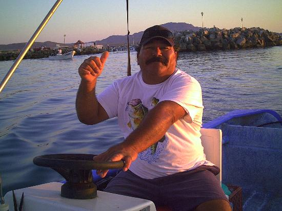 Coco Cabanas Loreto: Capt. Pedro
