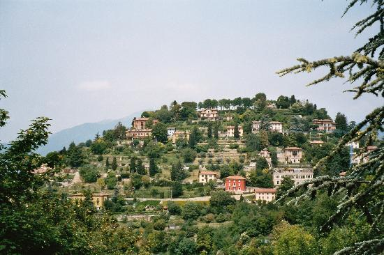 Hillside from Citta Alta Bergamo