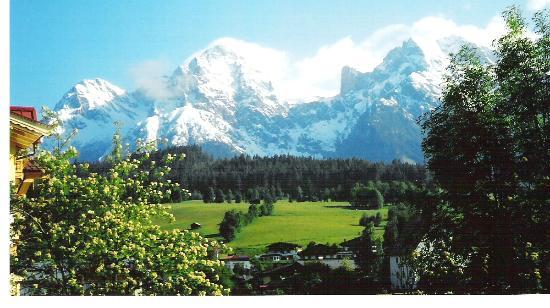 Maria Alm, Austria: The view from our apartment.