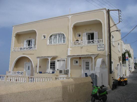 Villa Ilias Caldera Hotel: The Hotel Villa Illias