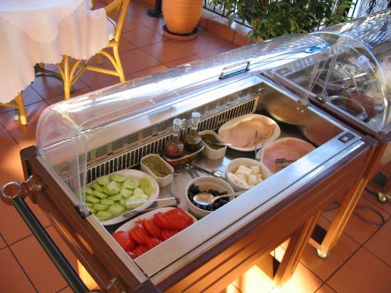 Adrian Hotel: Part of the Breakfast Buffet