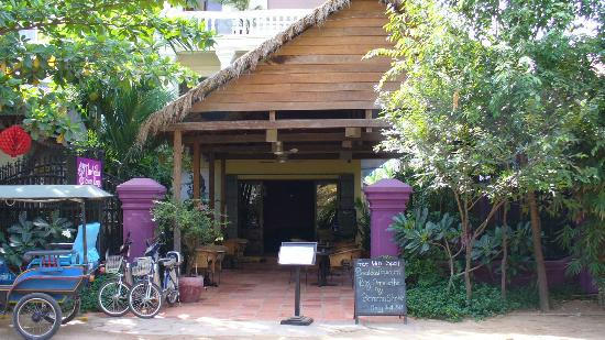 The Villa Siem Reap: Outside of the guest house