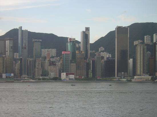 Kowloon Shangri-La Hong Kong : View from our room