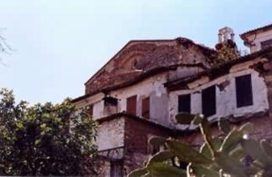 Zeus Pension: The ancient church in the village