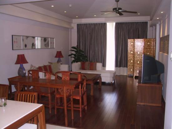 Huayu Resort and Spa Yalong Bay Sanya: The living room