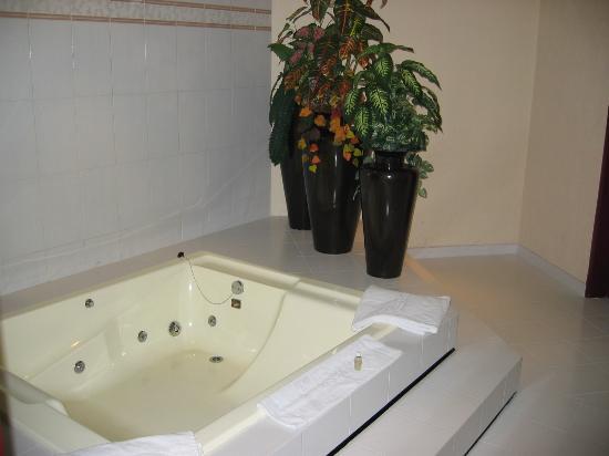 Royal Plaza: The Bathroom Jacuzzi