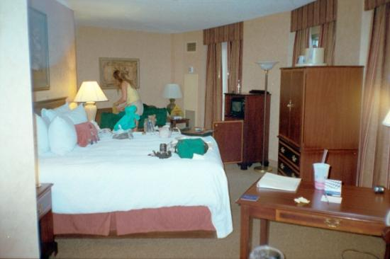 Hampton Inn & Suites Memphis - Beale Street: Our room