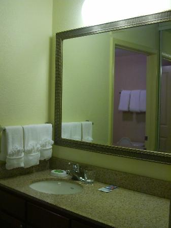 Bathroom Sinks Long Island bathroom sink - picture of residence inn long island holtsville