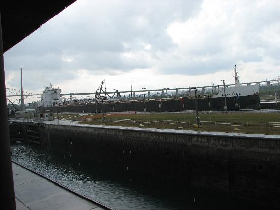Soo Locks: H. Lee White downbound