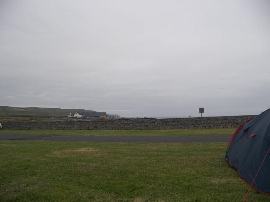 Nagle's Doolin Camping & Caravan Park: A grey day, but you get the idea