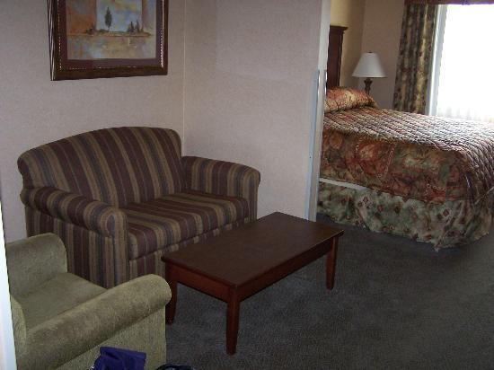 Comfort Suites Columbia : sitting area