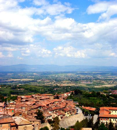 Meuble il Riccio: View from the room!