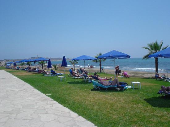 Kefalos Beach Tourist Village: Beach area behind Kefalos Beach