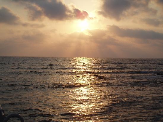 Kefalos Beach Tourist Village: Sunset from Kefalos Beach
