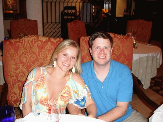 Occidental Papagayo - Adults only: Us after dinner