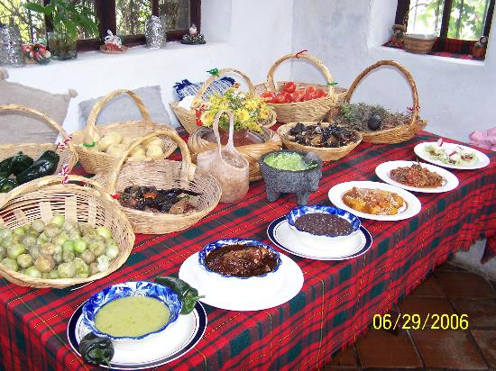 Mexican Home Cooking School and B&B : Some dishes we prepared