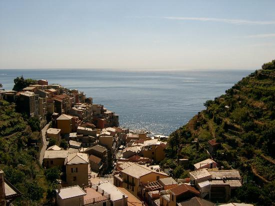 Manarola, Italie : View from Room