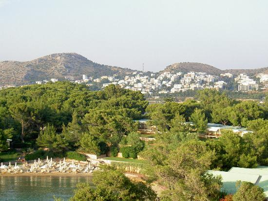 Vouliagmeni, Grecja: View from room