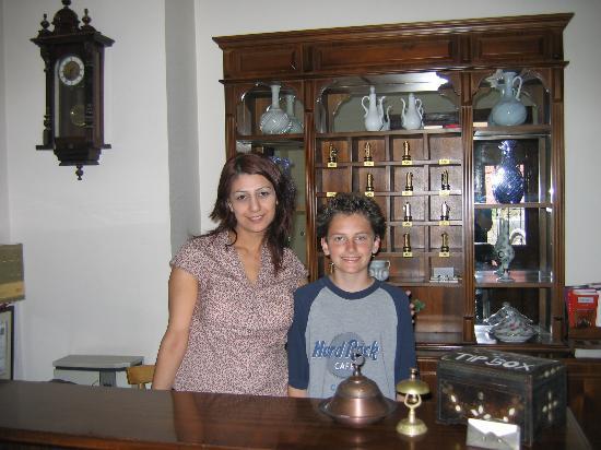 Hotel Sari Konak: Elif and Justin