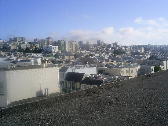 Lombard Motor Inn: View from roof top