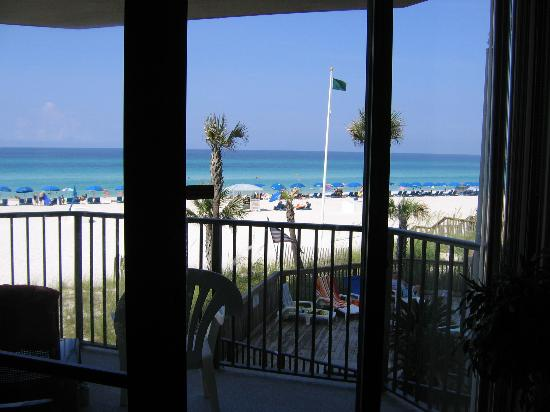 Sunbird Suites : Another beach view from inside our condo