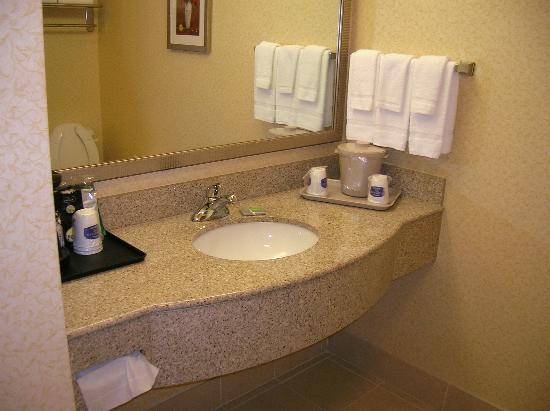 Fairfield Inn & Suites Murfreesboro: Bathroom