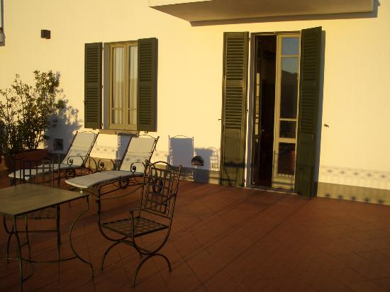 Relais I Due Roccoli : the balcony/terrace