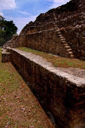Caracol Mayan Ruins: One of the many buildings