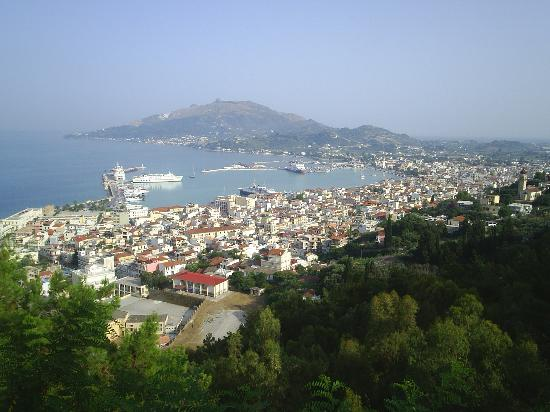 زاكينثوس, اليونان: zante town