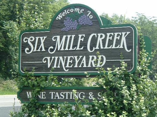 ‪Six Mile Creek Vineyard‬