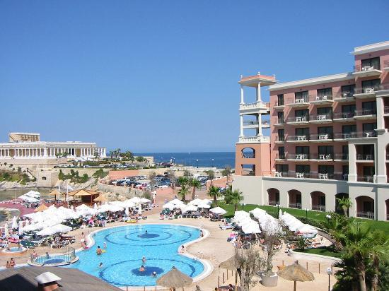 The Westin Dragonara Resort, Malta: View from bedroom
