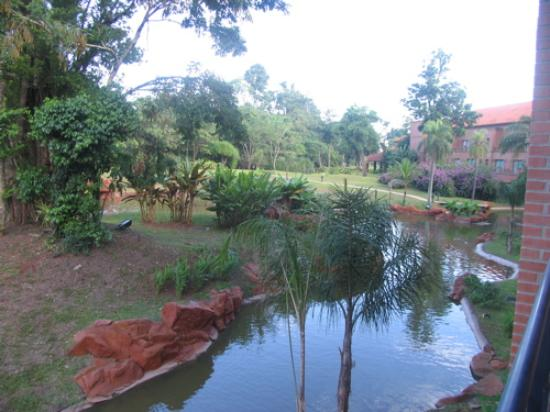 Iguazu Grand Resort, Spa & Casino: view of hotel grounds from our bedroom