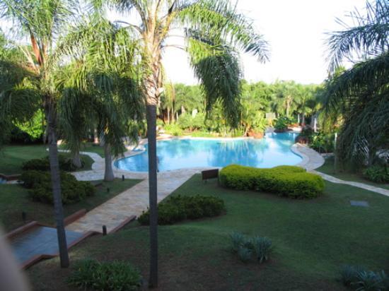 Iguazu Grand Resort, Spa & Casino: yes you get wet - wear bathing suits
