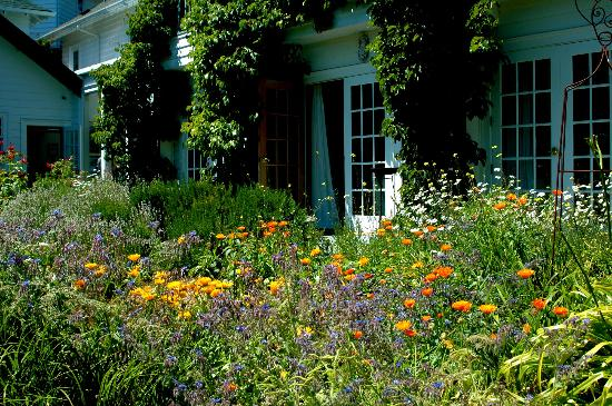 Sooke Harbour House Resort Hotel: Beautiful gardens