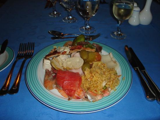 Paradisus Rio De Oro Resort Spa Typical Buffet Food Dinner
