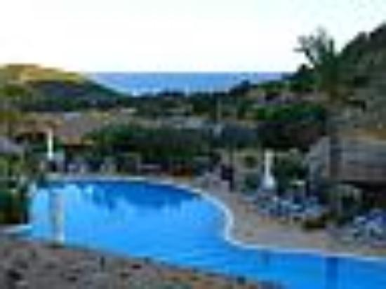 Cruccuris Resort : View from balcony