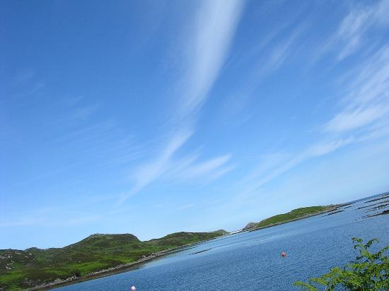 Drumbeg, UK: Mr Blue Sky