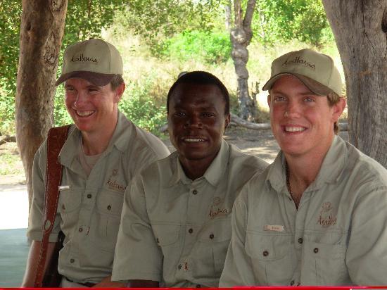Arathusa Safari Lodge: Jaco, Rufus and Werner