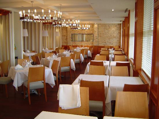 Inside the Monte Cristo restaurant (on site) - Picture of Hotel Le ...