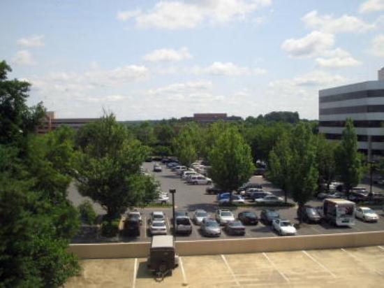 Holiday Inn Gaithersburg: View from the hotel room...