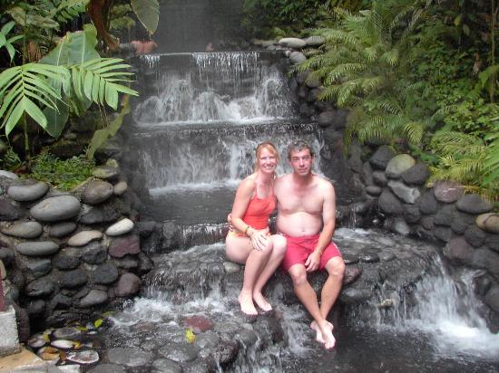 Occidental Papagayo - Adults only: us at the hot springs